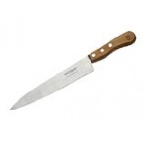 Нож поварской 245/380 мм, средний с дерев. ручкой