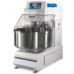 Тестомес 216 л (130 кг) MAC.PAN MSP130 JET/T двухмоторный