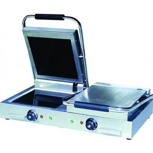 Пресс-гриль 2-х секционный GASTRORAG NPL-EC-2 700х480х170 мм