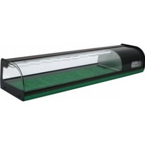 Витрина холодильная Carboma A37 SM 1,8-1 (ВХСв-1,8 суши-кейс) (8 GN 1/3)