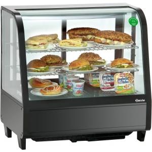 Витрина холодильная Koreco RTW100L черная от 0 до 12 °С