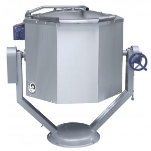 Котел пищеварочный 100 л Abat КПЭМ-100 ОР опрокид. с ручным приводом 1188х832х1175 мм