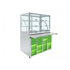 Прилавок холодильный Luxstahl ПХК (С)-1200 Premium Neon