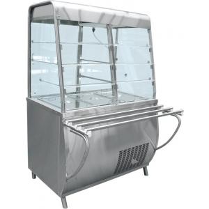 Прилавок-витрина холодильный Премьер ПВВ-70Т-С 1120х1025х1700 мм