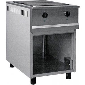 Плита электрическая 2-х конфорочная RADA ПЭС-2 без жар/шкафа 550×815×850 мм (серия 800)