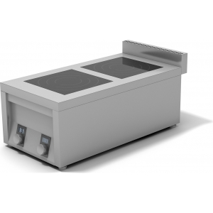 Плита индукционная 2-х конфорочная ИПП-210134 плоская 400х760х400 мм