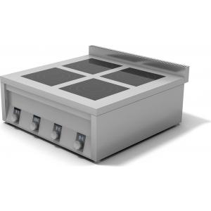 Плита индукционная 4-х конфорочная ИПП-410145 плоская 900х900х400 мм