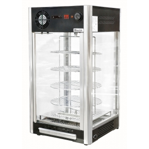 Тепловая витрина 108 л настольная Convito RTR-108L 874х568х686 мм  для пиццы
