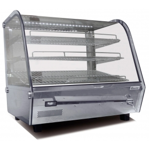 Тепловая витрина 120 л Convito RTR-120L 678х568х670 мм