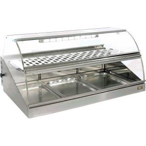 Тепловая витрина 110 л Roller Grill VHC 1000 1000x720x475 мм +20C, +95C, настольная