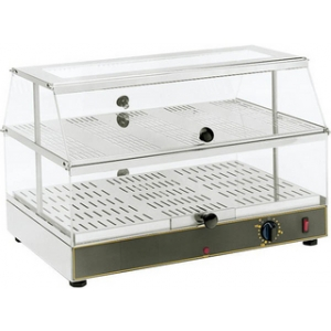 Тепловая витрина Roller Grill WD-200 590x350x390 мм от 0 до 95 °C, настольная