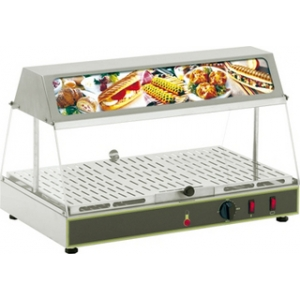 Тепловая витрина Roller Grill WDL-100 590x350x375 мм + 95 °C, настольная