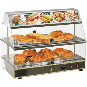 Тепловая витрина Roller Grill WDL-200 590x350x480 мм + 95 °C, настольная