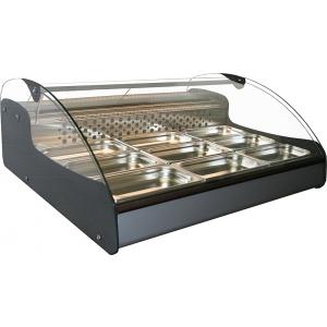 Тепловая витрина Полюс ВТ-1,0 Арго XL ТЕХНО 1000х882х410 мм до +60 °C