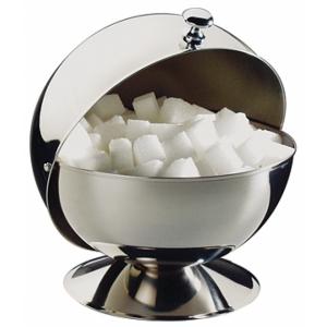 Сахарница d=135 мм. h=15 см. нерж. с крышкой Roll-Top APS