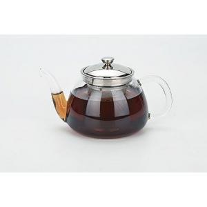 Чайник заварочный 700 мл. стекло/метал. /24/