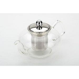 Чайник заварочный 800 мл. стекло/метал