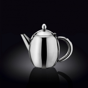 Чайник заварочный 500 мл с фильтром и откидной крышкой нерж. Wilmax