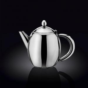 Чайник заварочный 1000 мл. с фильтром и откидной крышкой нерж. Wilmax