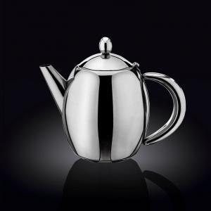 Чайник заварочный 1750 мл, с фильтром и откидной крышкой нерж. Wilmax