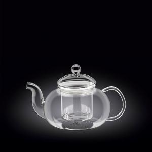 Чайник заварочный 620 мл с колбой термо стекло Thermo Glass Wilmax