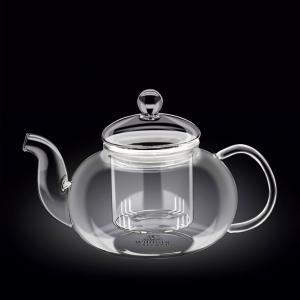 Чайник заварочный 1550 мл. с колбой термо стекло Thermo Glass Wilmax
