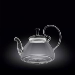 Чайник заварочный 600 мл. термо стекло Thermo Glass Wilmax
