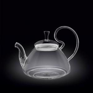 Чайник заварочный 800 мл. термо стекло Thermo Glass Wilmax