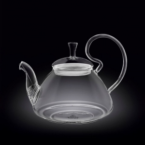 Чайник заварочный 1200 мл. термо стекло Thermo Glass Wilmax