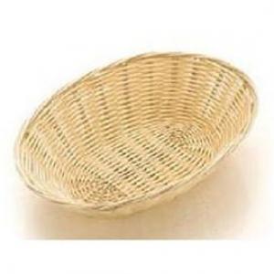 Корзина для хлеба овальная 23х15х6 см. полипропилен