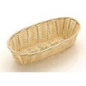 Корзина для хлеба овальная 23х9х5 см. полипропил.
