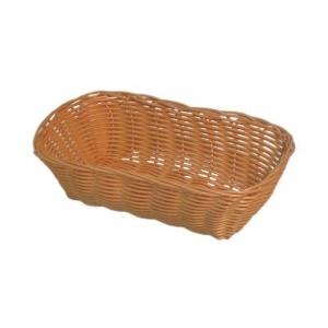 Корзина для хлеба прямоуг. 23х15х6 см. пласт. белая (WB-2023)/12/144/