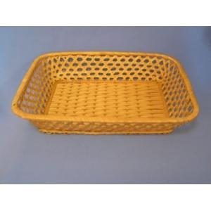 Корзина для хлеба прямоуг. 28х21х6 см. корич.
