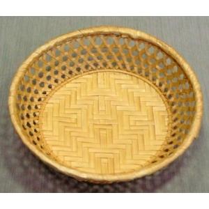 Корзина для хлеба круглая 20х6 корич.