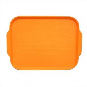 Поднос 45*35,5см. оранжевый (166)