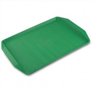 Поднос 42*30см зеленый