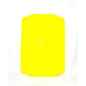 Поднос 42*30см желтый