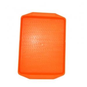 Поднос 42*30см оранжевый
