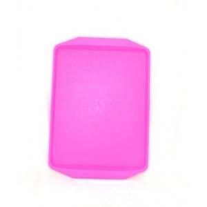 Поднос 42*30см ярко-розовый