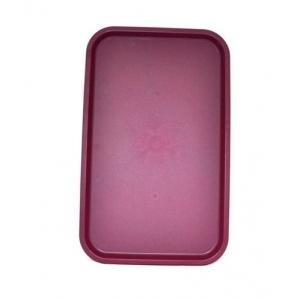 Поднос 53*33см вишневый