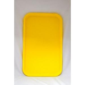 Поднос 53*33см желтый