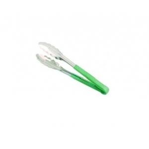 Щипцы универсальные L=24 см нерж. зеленая ручка MGSteel