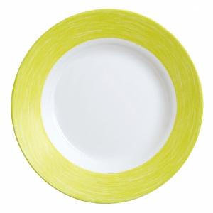 Тарелка d=220 мм. глубокая, зеленая Color Days /24/