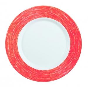 Тарелка d=240 мм. красная Color Days /24/