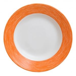 Тарелка d=220 мм. 400 мл. глубокая, оранжевая Color Days /24/