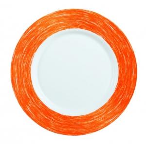 Тарелка d=240 мм. оранжевая Color Days /24/