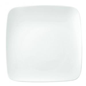 Тарелка квадр. 300*300 мм. без полей с приподнятым краем Vital Square /6/