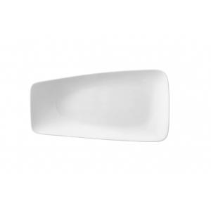Тарелка прямоуг. 280/230*260 мм. с приподнятым краем, ассиметричное Rectangle /6/