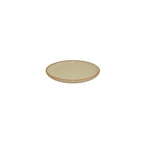 Тарелка d=170 мм. мелкая без полей Артизан Песок