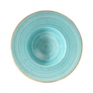 Тарелка для пасты d=280 мм. 400 мл. Аква